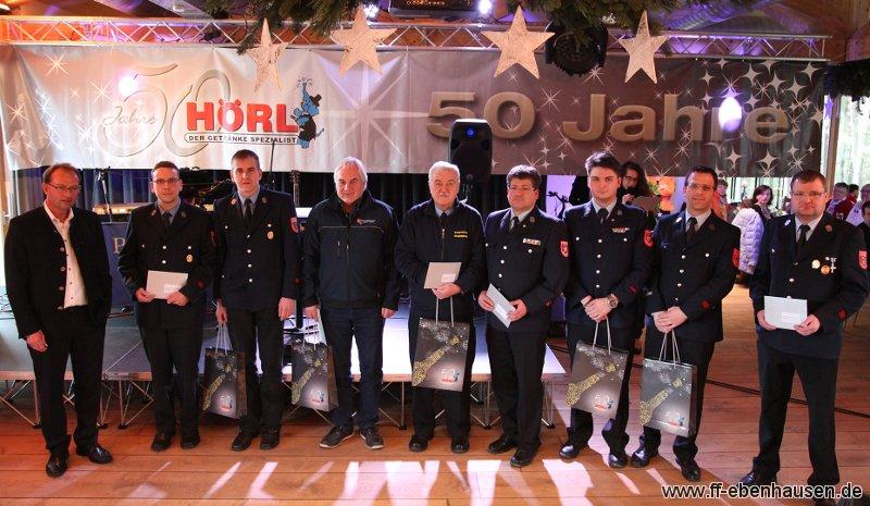 Spendenübergabe - Freiwillige Feuerwehr Ebenhausen
